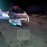 Нічна погоня за п'яним водієм: травмувались двоє франківських патрульних (Відео)