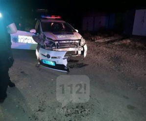 Вночі поліція влаштувала погоню за п'яним водієм: двоє правоохоронців травмовані