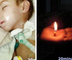 «Я вірив, що синочок одужає… на жаль»: помер 5-річний Славчик, який був 9 місяців у комі після кору
