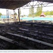 На місці пожежі в оздоровчому комплексі виявили тіло 17-річного хлопця. ФОТО