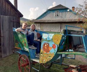 """Калушанка розповіла, як """"кулібін"""" із Вишкова змайстрував тримісний квадроцикл, бричку і сани"""