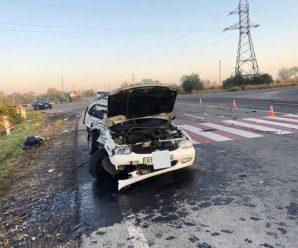 Водій із Калуша потрапив у смертельну ДТП з автопотягом — пасажирка загинула. ФОТО