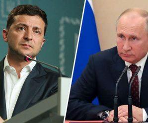 Зеленський став на коліна та врятував Путіна