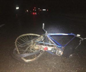 Внаслідок ДТП на Прикарпатті загинув велосипедист