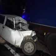 Уночі на Прикарпатті від зіткнення з вантажівкою загинули водій ВАЗу та пасажир