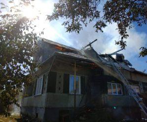 Стали відомі деталі пожежі житлового будинку в Долині. ФОТО