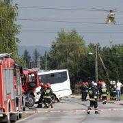 В моторошній ДТП постраждали 33 людини, одна – загинула