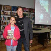 Письменник Макс Кідрук у Калуші презентував роман «Доки світло не згасне назавжди». ФОТО