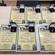 У Рогатині нащадкам бійців УПА вручили нагороди