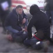 В Калуші чоловік, який обстріляв офіс радіостанції та порізав полісмена, вийшов на волю