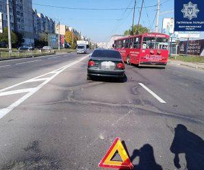 У Франківську водій BMW під наркотиками збив жінку
