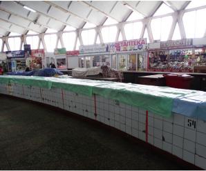 У Франківську на центральному ринку облаштували місця для стихійних продавців (ФОТО)