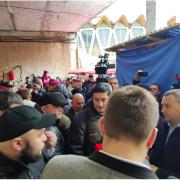Базарні війни: Халаменда прийшов повертати ринок (ФОТО, ВІДЕО)