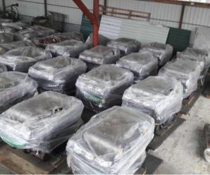 На Прикарпатті СБУ виявила 20 двигунів для бронемашин, які хотіли незаконно вивезти в ЄС