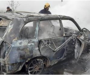 Помер екскерівник Солотвинського лісгоспу, автомобіль якого загорівся на ходу (ФОТО)