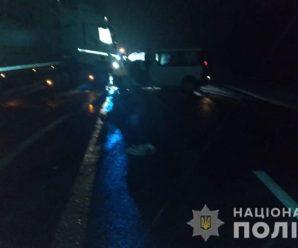 На трасі Київ-Чоп фура протаранила два мікроавтобуси, є жертви