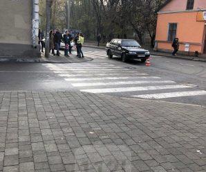 В Івано-Франківську на пішоходному переході збили дівчину (ФОТО)