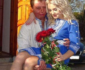 Одружився хлопець, у якого обгоріло 75 відсотків тіла