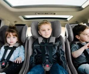 20 листопада українських водіїв почнуть штрафувати за перевезення дітей без автокрісел