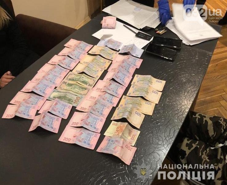 В організаторів мережі знайшли гроші/фото поліції