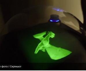 Представлено фантастичний голографічний стіл ціною 10 тисяч доларів: відео
