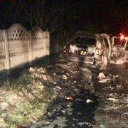 Поліція показала фото BMW, в якому вночі заживо згорів чоловік (ФОТО)