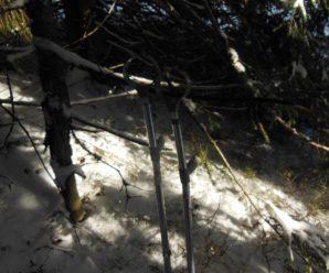 Франківець на милицях пройшов складний маршрут зимовими Карпатами (фото)
