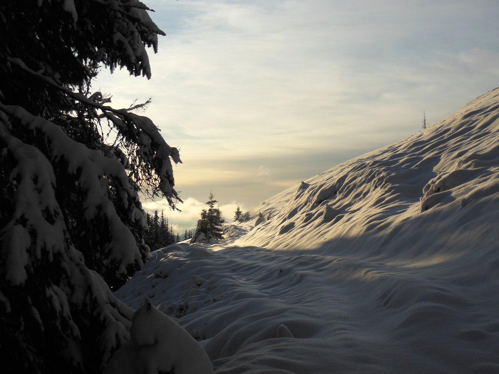 Франківець пішов у похід на милицях заради неймовірних фото зимових Карпат 7