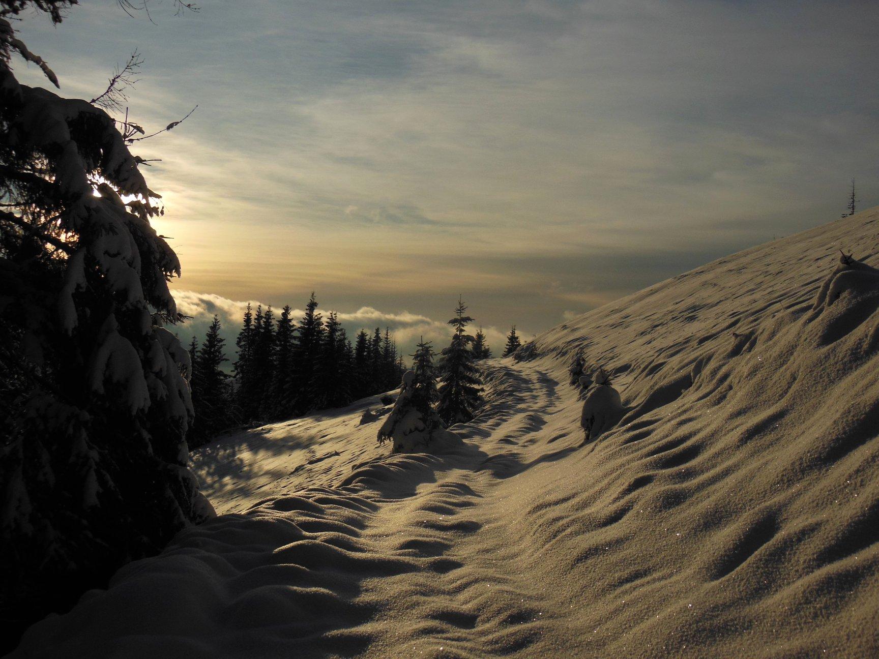 Франківець пішов у похід на милицях заради неймовірних фото зимових Карпат 9