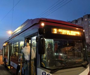 У комунальному транспорті Франківська Святий Миколай роздавав подарунки (ФОТО)
