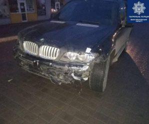 Франківські патрульні розшукали водія, який здійснив наїзд на людину та втік з місця ДТП (ФОТО)