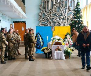 У Бурштині попрощалися з атовцем Миколою Сернецьким (ФОТО)