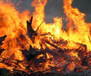 На Прикарпатті трапилася пожежа: є жертва
