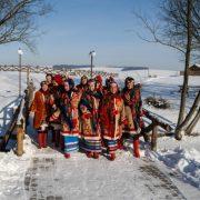 У Франківську відтворили, як святкували Різдво по всій Україні 100-200 років тому (ВІДЕО)