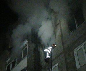 Вночі в Івано-Франківську загорілась квартира: двоє дітей у лікарні