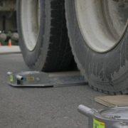 У Галицькому районі встановили пункт зважування вантажівок
