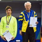 80-річний легкоатлет з Франківська встановив три національні рекорди на чемпіонаті України