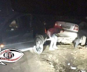 На Прикарпатті водій не справився з керуванням та в'їхав в огорожу. ФОТО