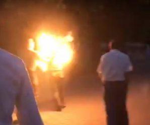 Облив себе бензином та підпалив: на Прикарпатті чоловік намагався звести рахунки із життям