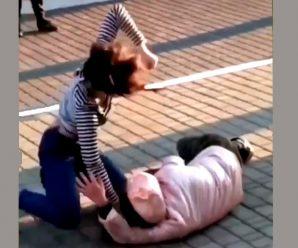 Жорстоко били та обзивали: п'яні школярки напали на матір та дитину