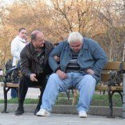 У мережі показали фото п'яного і обмоченого радника СНБО Сивохо