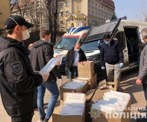 Прикарпатські медики та поліціянти отримали спецзахист від волонтерів