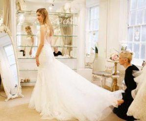 В першу річницю весілля прибігла Зінка – сестра чоловіка, ні, не привітати, а сукню мою весільну приміряти. Виявляється, погана прикмета, ой погана