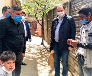Марцінків відвідав місця проживання ромів і пообіцяв їм одяг, їжу, медичну та правову допомогу (ФОТО)