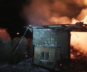 У Франківську трапилася масштабна пожежа у військовій частині по вулиці Чорновола