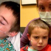 Задихається від кашлю і плаче: матір зняла моторошне відео з дитиною, яка захворіла на коронавірус (ВІДЕО)