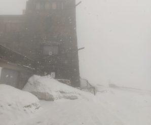 Українські Карпати засипає снігом