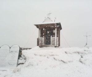 У Карпатах мороз -2 і випав сніг
