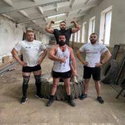 Прикарпатці вирушили на чемпіонат України з богатирського багатоборства