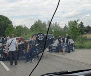 ДТП на Прикарпатті: Зіткнулись одночасно 5 машин